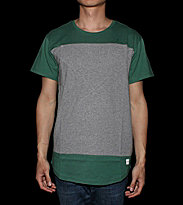 Ucon T-Shirt Tim grey/green pine