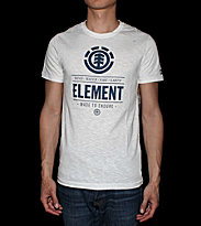 Element T-shirt Compass white off