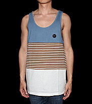 RVCA Tanktop Sin Layer blue suede