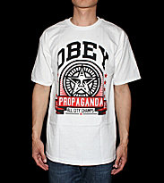 Obey T-Shirt Entra Innings white