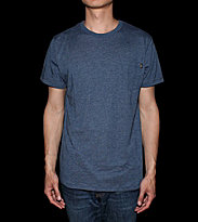 Obey T-Shirt Tri-Blend blue heather dark navy
