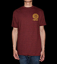 Obey T-Shirt Machins Posse red brick heaher