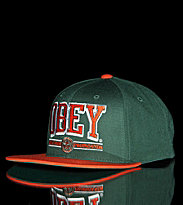 Obey Snap Cap Obey Athletics green/orange
