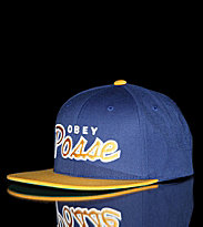 Obey Snap Cap Obey Posse blue/gold