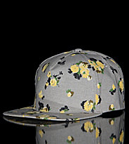 Obey Snap Cap Meadow Lark II beige oatmeal chambray