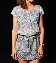 Roxy W Dress Sunlover grey hgr whaterfall