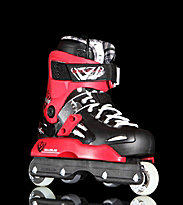 Rollerblade Solo Tribe HD black/red