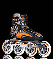 Rollerblade Speedmachine 110 grey/orange