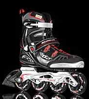 Rollerblade Spark 84 black/red