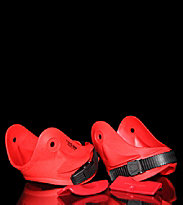 Remz Cuffs & Backslideplates red