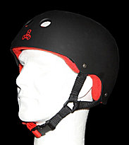 Triple 8 Helmet Rubber black rubber