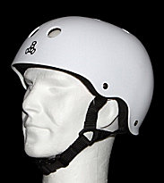 Triple 8 Helmet Rubber white rubber