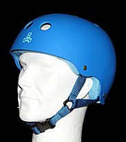 Triple 8 Helmet Rubber blue royal