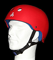 Triple 8 Helmet Rubber red united