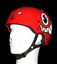 Triple 8 Helmet Maloof Special Edition red