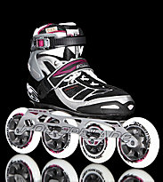 Rollerblade W Tempest 100 black/purple