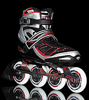 Rollerblade Tempest 90 black/red