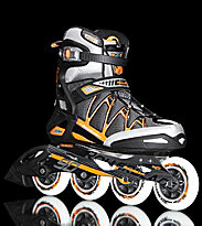 Rollerblade Igniter 90 grey anthracite/orange