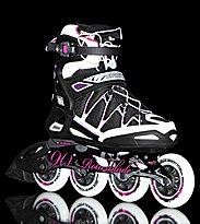 Rollerblade W Igniter 90 black/purple