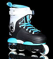 Razors Genesis Junior 2 black/white/aqua