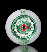 841 Wheel Dragon green/white